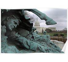 Ulysses S. Grant Memorial - Washinton D.C. Poster
