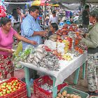 Saturday Morning... Public Market in San Ignacio -Belize, Central America by Jeremy Lavender Photography
