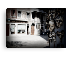 Creatures of Venice Canvas Print