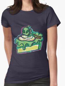 Cute Alien Kawaii Dessert Buffet Womens Fitted T-Shirt