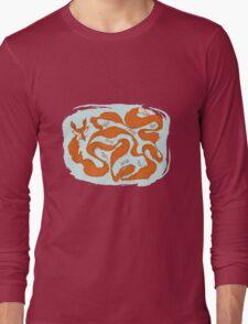 Fox Tail Maze Long Sleeve T-Shirt
