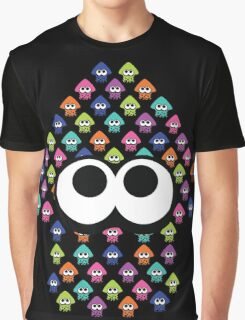 Splatoon Inspired: Squid made of Squid Graphic T-Shirt