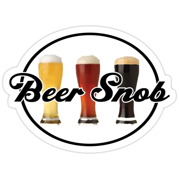 Beer Snob by UncleCory