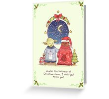 Hrm, Christmas Jumpers, yes! Greeting Card