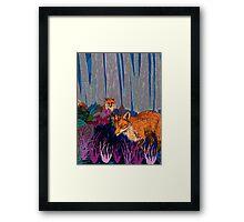 Night Hunt Framed Print