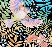 Birds of Paradise by Ruta Dumalakaite
