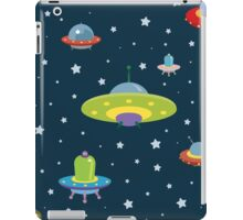 cartoon spaceships launch 4 iPad Case/Skin