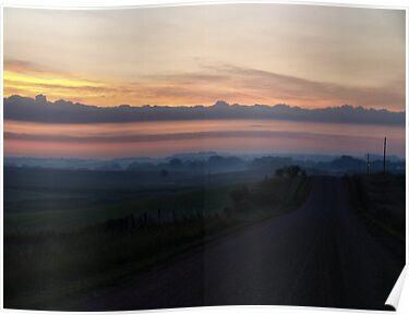 Rolling Hills to Sunrise by Scott Hendricks