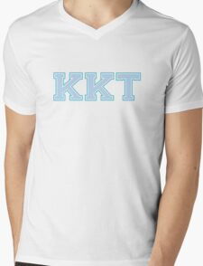 Kappa Blues Mens V-Neck T-Shirt
