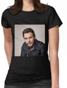 "Chris Pratt Actor Christopher Michael ""Chris"" Pratt Womens Fitted T-Shirt"