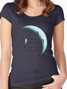 Problem Solver Women's Fitted Scoop T-Shirt
