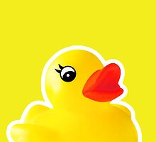 Rubber Ducky [iPad / iPhone / iPod Case] by Damienne Bingham