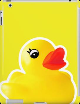 Rubber Ducky [iPad / iPhone / iPod Case] by Damienne Bingham