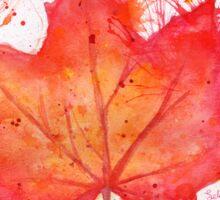 Fall Leaf Sticker