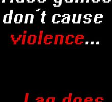 Video games don't cause Violence by Harleen3