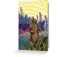 Ursidae Greeting Card