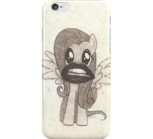 Science Fiction Double Feature Fluttershy iPhone Case/Skin