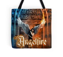 Anglefire book cover for Hanna Peach Tote Bag