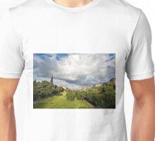 Princes Street Gardens, Edinburgh Unisex T-Shirt