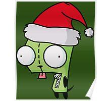 Invader Zim - Santa Gir [Green] Poster