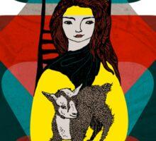 Goat Herder 1 Sticker