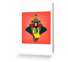 Goat Herder 1 Greeting Card