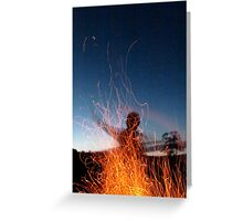 Fire Child Greeting Card