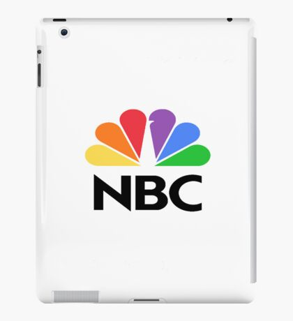 NBC Logo iPad Case/Skin