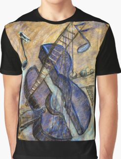 I painting  Blue Guitar after reading what Pablo Picasso wrote about IT  Graphic T-Shirt