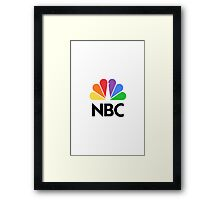 NBC Logo Framed Print