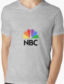 NBC Logo Mens V-Neck T-Shirt