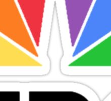 NBC Logo Sticker
