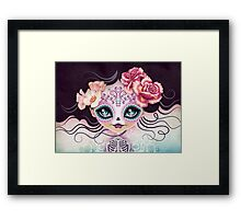 Camila Huesitos - Sugar Skull Framed Print