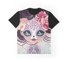 Camila Huesitos - Sugar Skull Graphic T-Shirt