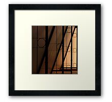 Awning #4 version 2 Framed Print