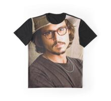 Johnny Depp Graphic T-Shirt