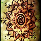 Sacred Spiral of Growth Mandala by WildEarthChilde