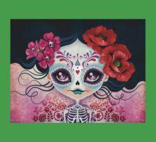 Amelia Calavera - Sugar Skull Baby Tee