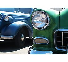 Classic 1950's Car Show Photographic Print