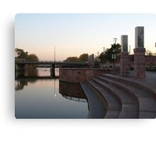 River Walk at Cherapa Place Canvas Print
