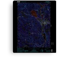 USGS TOPO Map New Hampshire NH Franklin 329566 2000 24000 Inverted Canvas Print