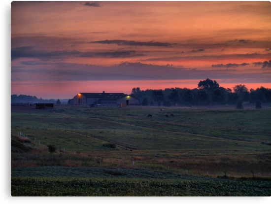 Dawn at the Horse Ranch by Scott Hendricks