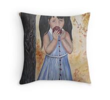 Little Snow Throw Pillow