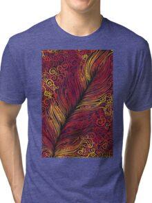 Fire Feather Tri-blend T-Shirt