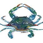 Maryland Blue Crab by Lynn Oliver