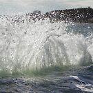 Backwash Waves by MaryinMaine