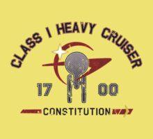 Heavy Class Cruiser Front - light One Piece - Short Sleeve