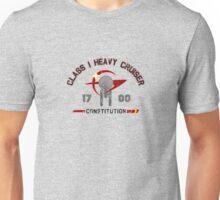 Heavy Class Cruiser Front - light Unisex T-Shirt