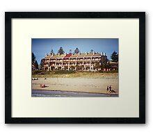THE MARINES, GRANGE, STH AUSTRALIA Framed Print