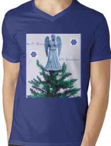 Doctor who weeping angel  Mens V-Neck T-Shirt
